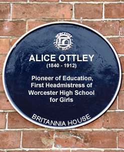 AO Blue Plaque