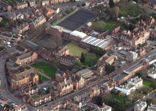 Aerial view - web