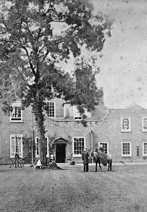 Britannia House in 1875 when still a private house