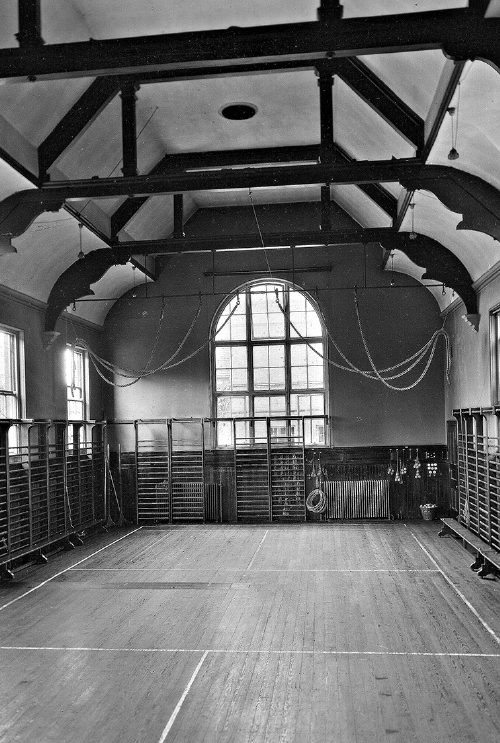 Gymnasium circa 1923