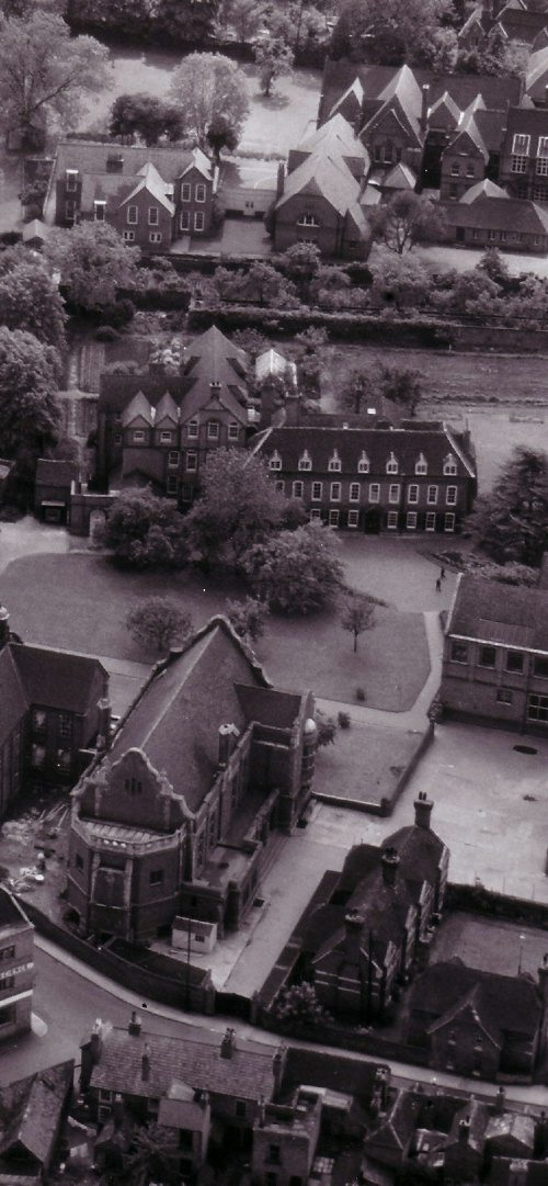 Royal Grammar School from Air -Circa 1955