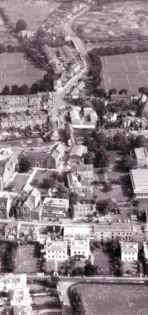 Royal Grammar School from Air -Circa 1960's