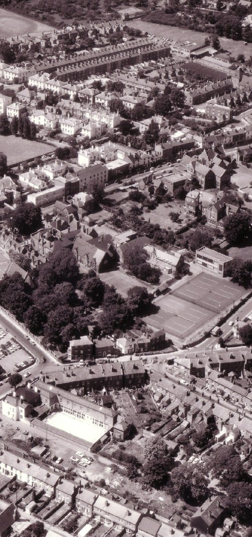 The School Site & SpringfieldCirca 1966