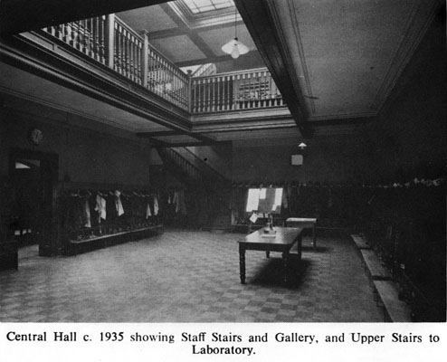 Central Hall 1935