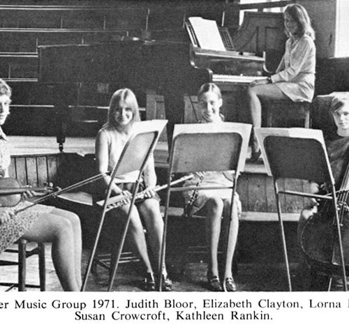 Chamber Music Group 1971