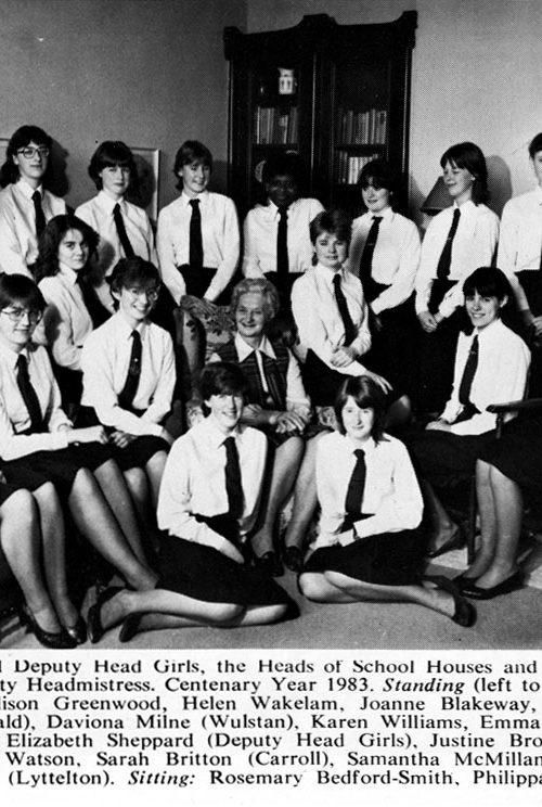 Head Girls 1983