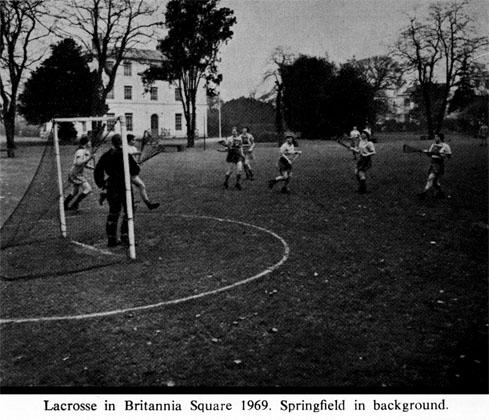 Lacrosse in Britannia Square1969