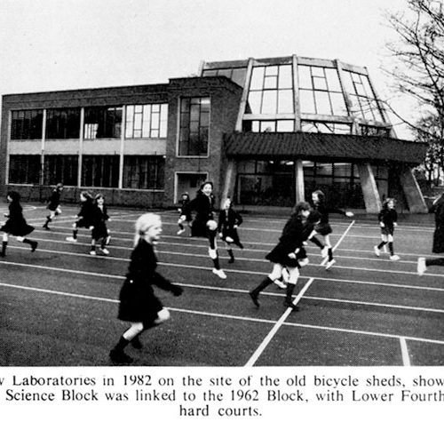 New Laboratories 1982