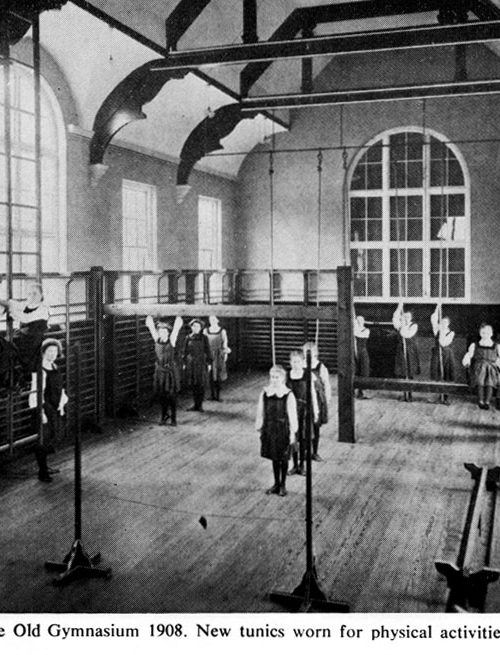 Old Gymnasium 1908