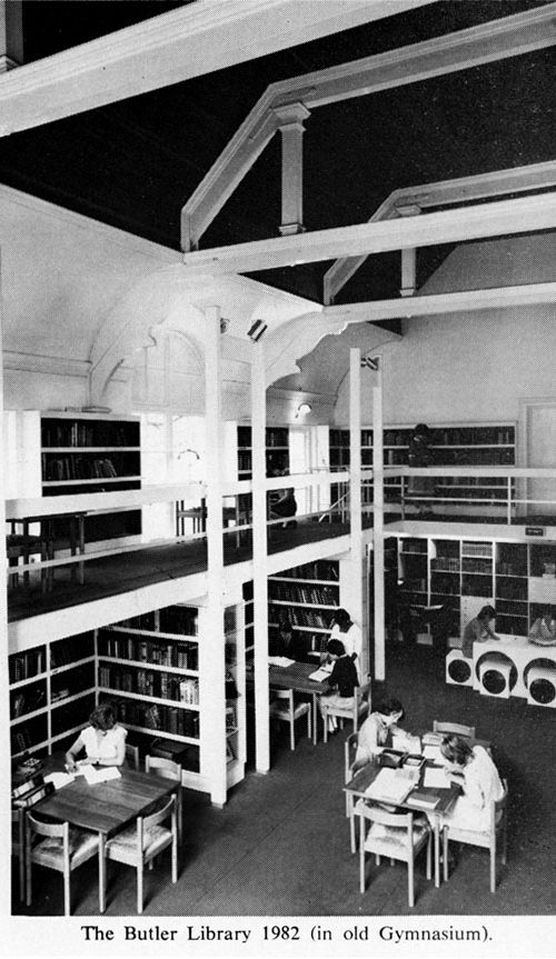 The Butler Library 1982