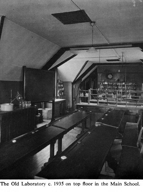 The Old Laboratory 1935